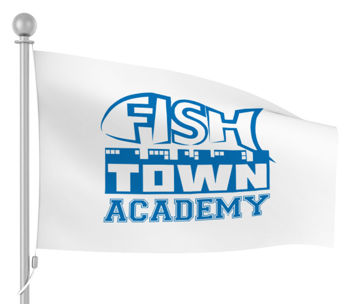 Fishtown Academy Flagge