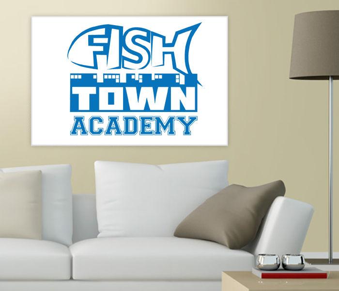 Fishtown Academy Leimwand KLEIN