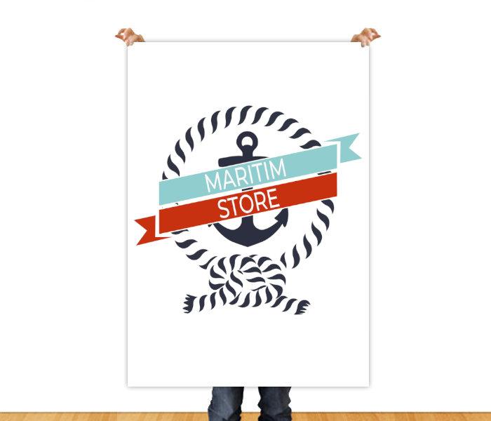Maritim Store Poster